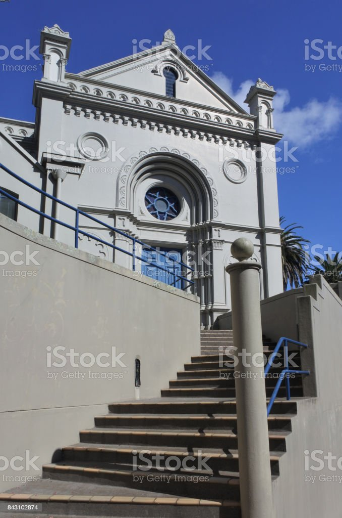 Former Synagogue Conversion Auckland stock photo