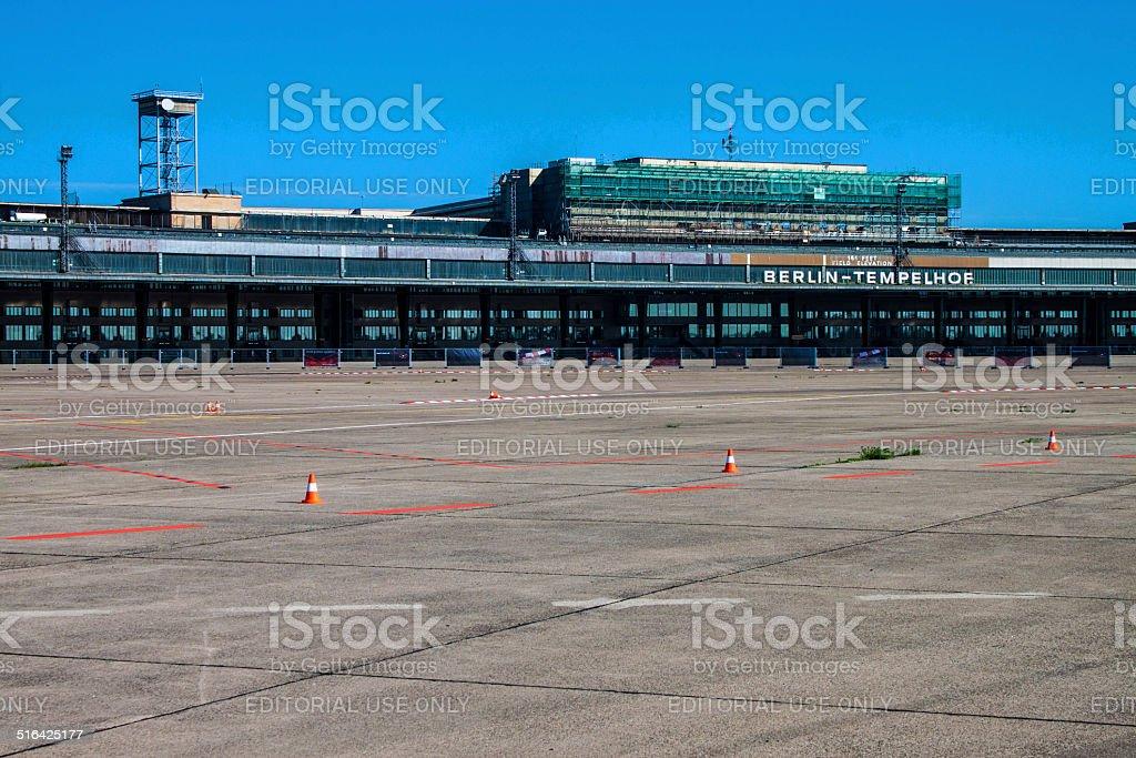 Former Tempelhof Airport, Berlin stock photo