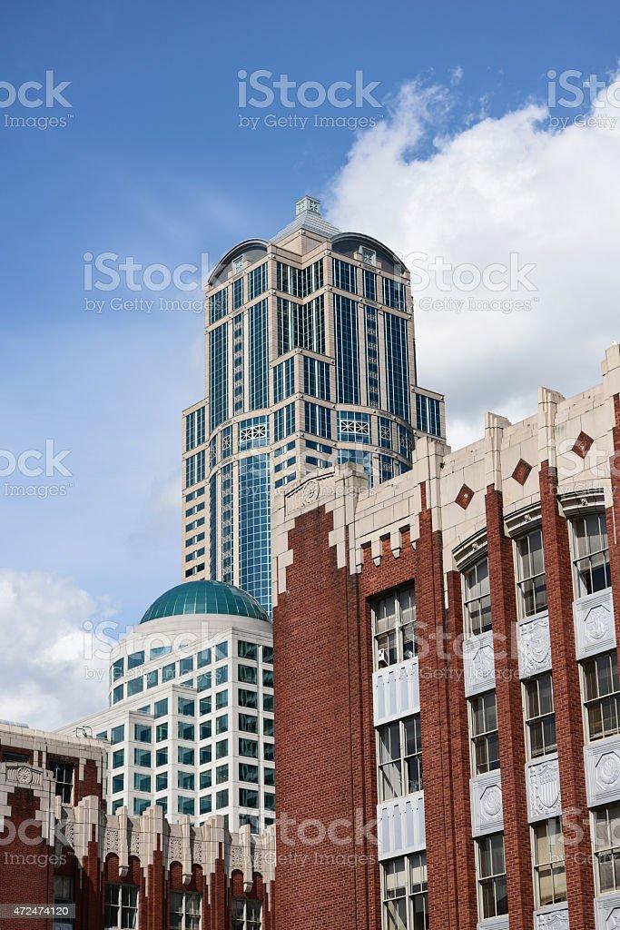 Former Washington Mutual Tower stock photo