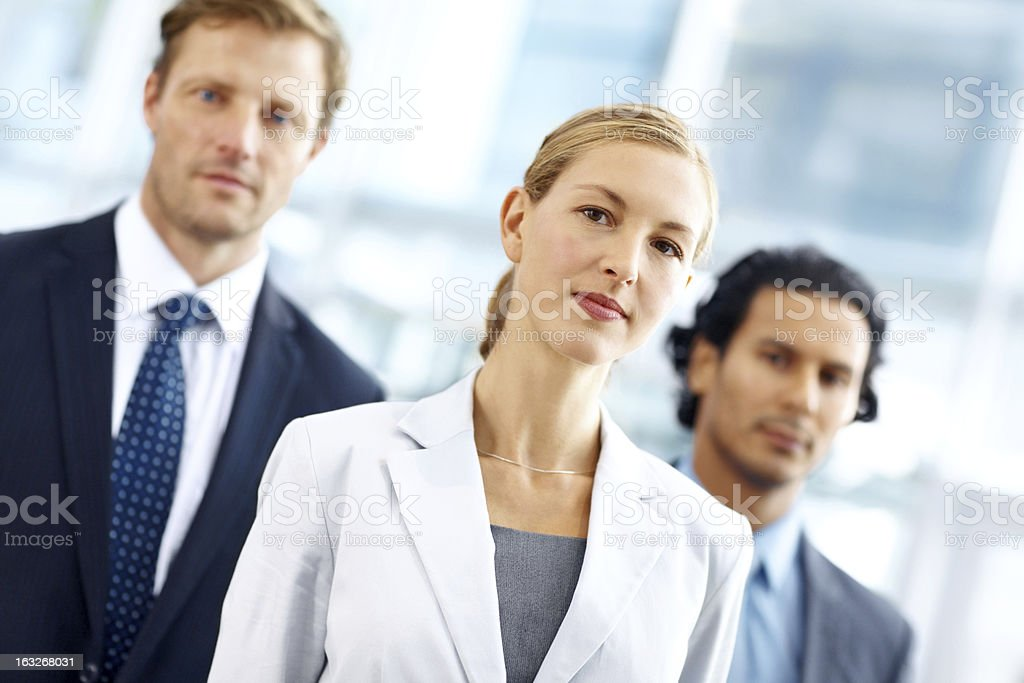 Formidable business team royalty-free stock photo