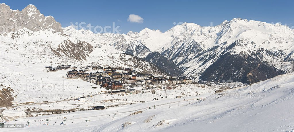 Formigal stock photo