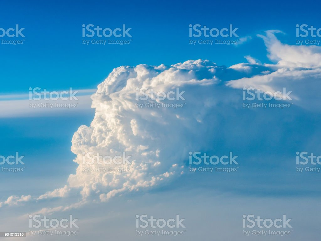 Forming cumulonimbus clouds - Royalty-free Atmosphere Stock Photo