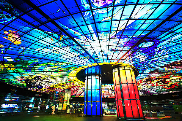 formosa boulevard station - subway foto e immagini stock