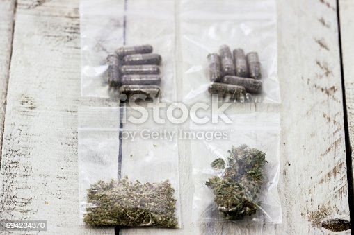 istock Forms of Cannabis 694234370