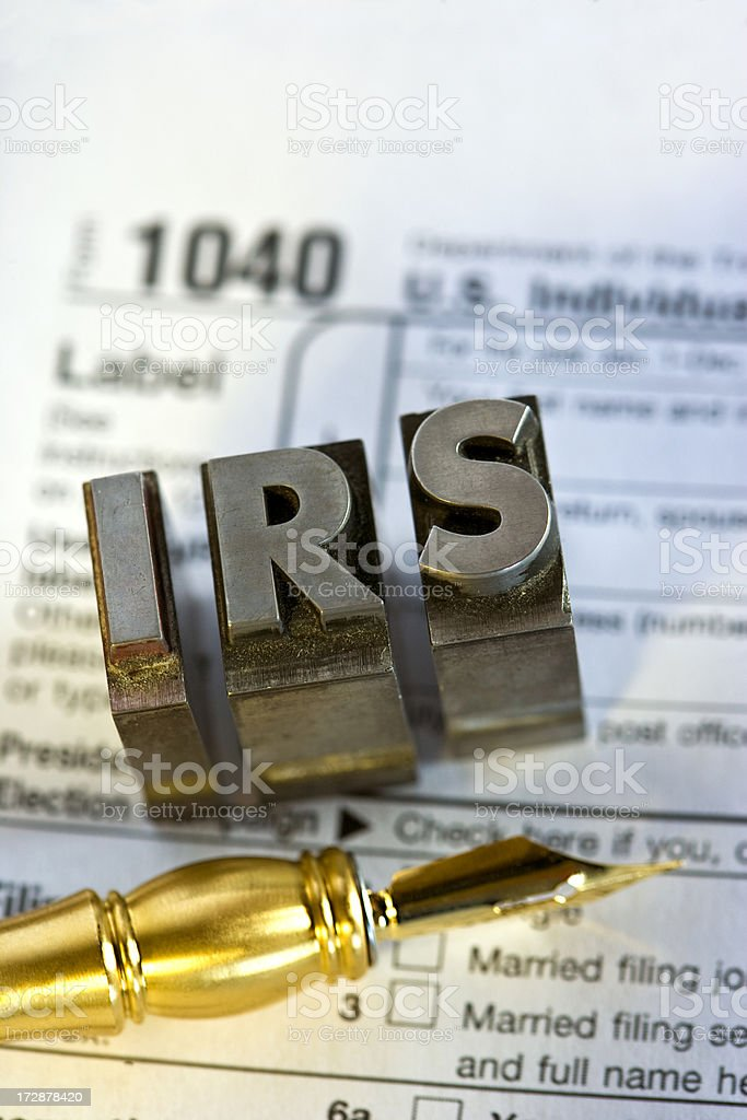 IRS Forms royalty-free stock photo