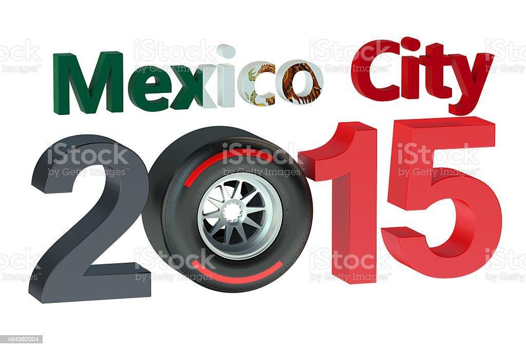 F1 Formula 1 Grand Prix In Mexico City 2015 Stock Photo - Download