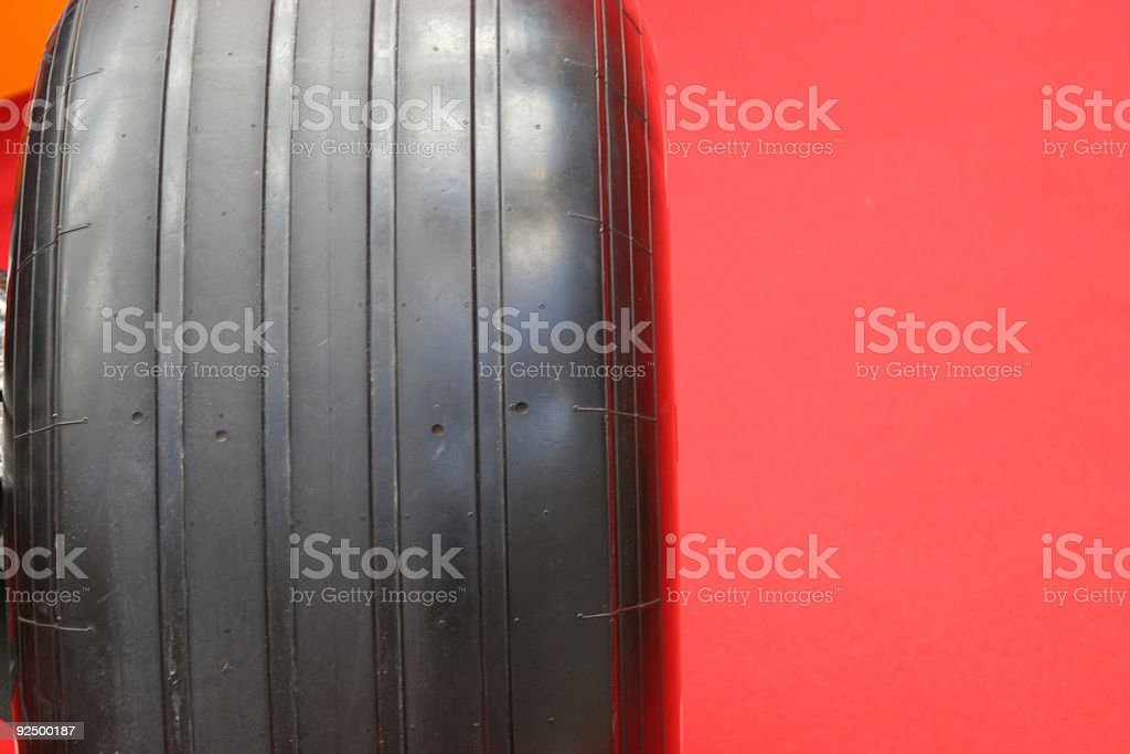 Formula 1 tire royalty-free stock photo