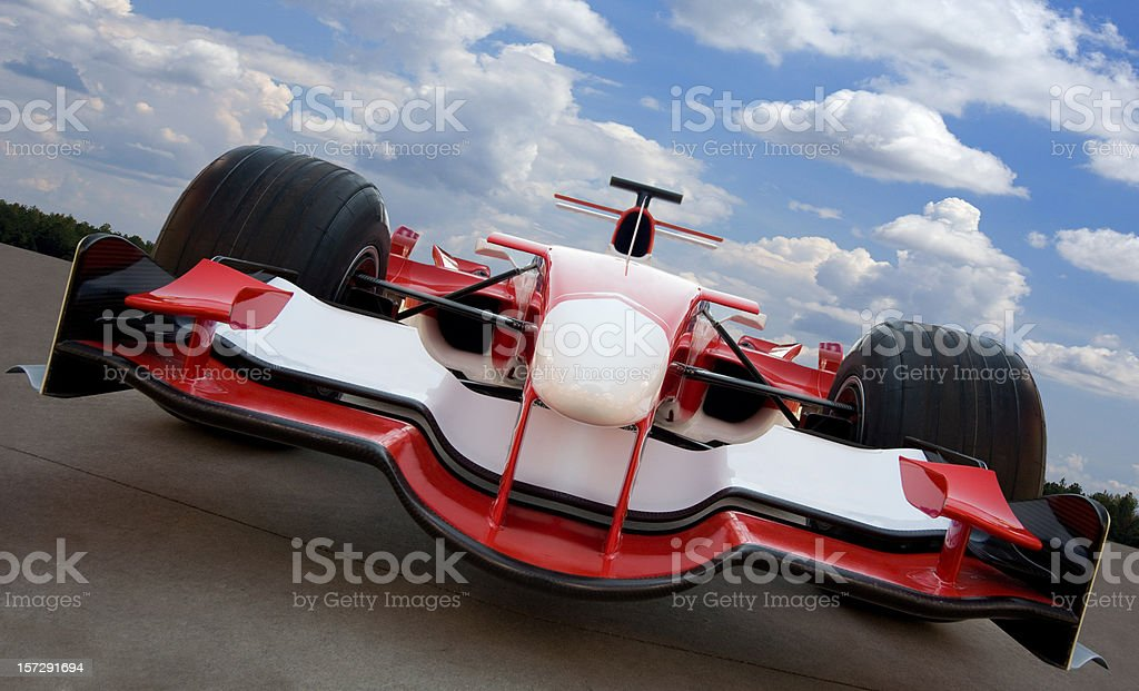 Formula One Race Car royalty-free stock photo