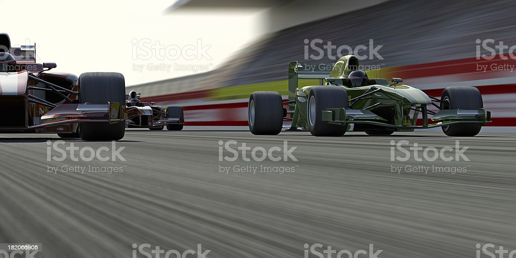 Formula One Race stock photo