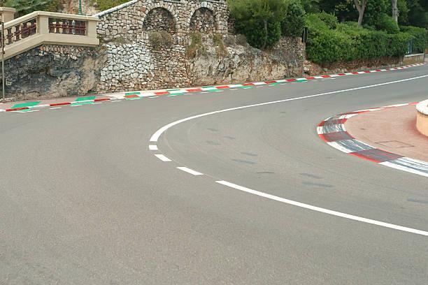Formula One race track in Monte Carlo, Monaco圖像檔