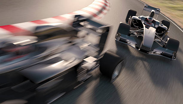 formula one racing - motorsport stock photos and pictures