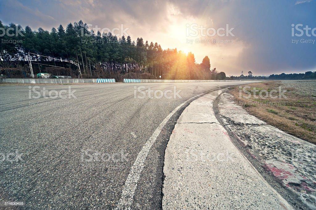 The racingFormula one racing venues