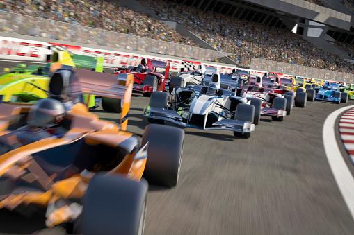 istock Formula One Type Racing 159382064
