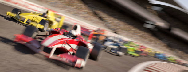 formula one type racing - motorsport stock photos and pictures