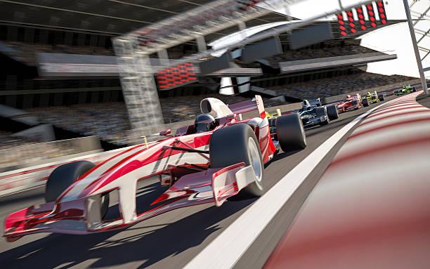 formel 1-rennen art - autosport stock-fotos und bilder