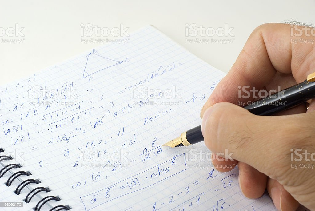 Formula royalty-free stock photo