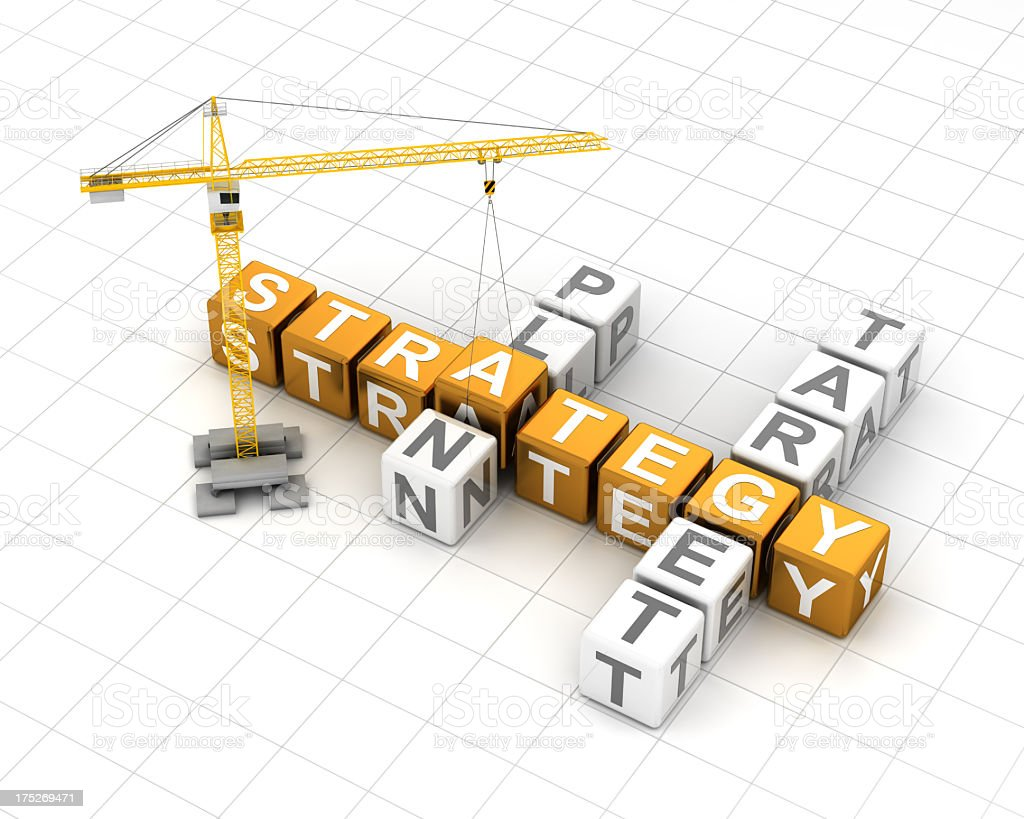 Formulate business strategy royalty-free stock photo