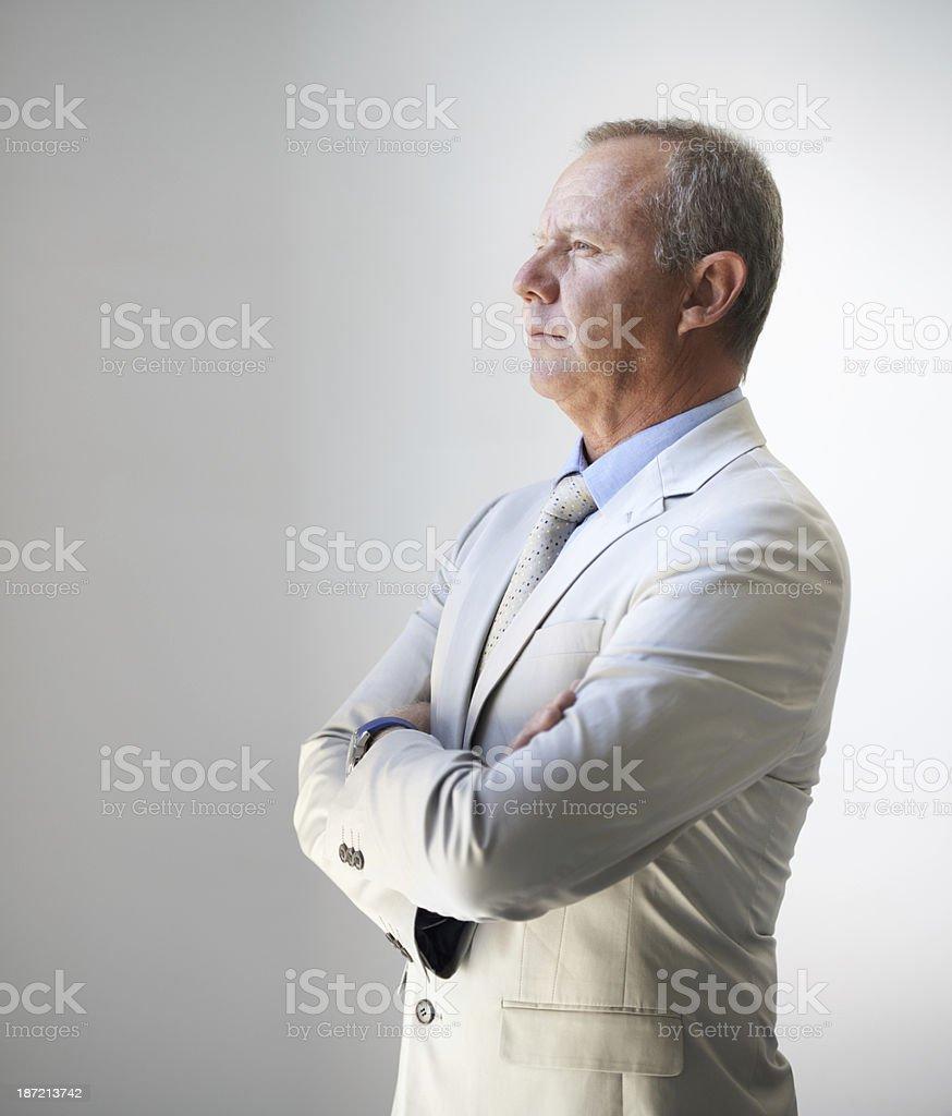 Formulating business strategies royalty-free stock photo