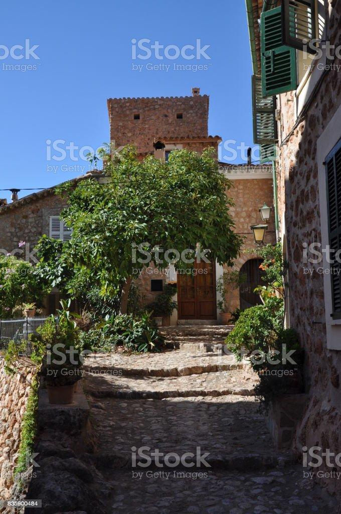 Fornalutx, Majorca stock photo
