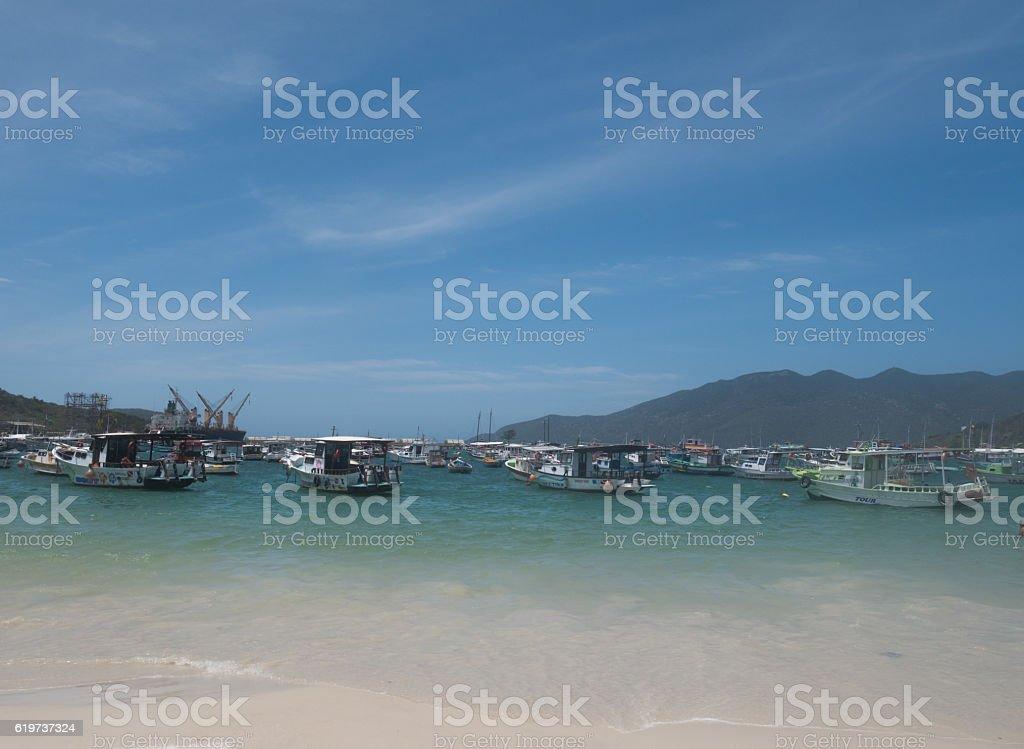 Forno Beach in Arraial Do Cabo, Rio de Janeiro - foto de acervo