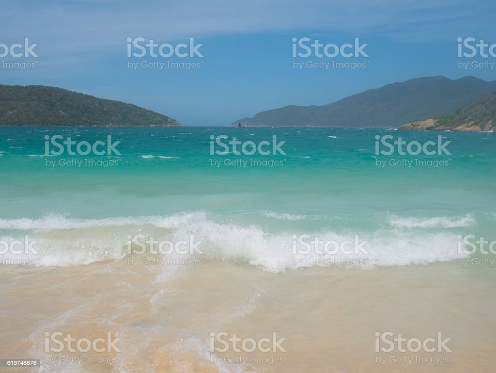 Forno Beach in Arraial Do Cabo, Rio de Janeiro stock photo