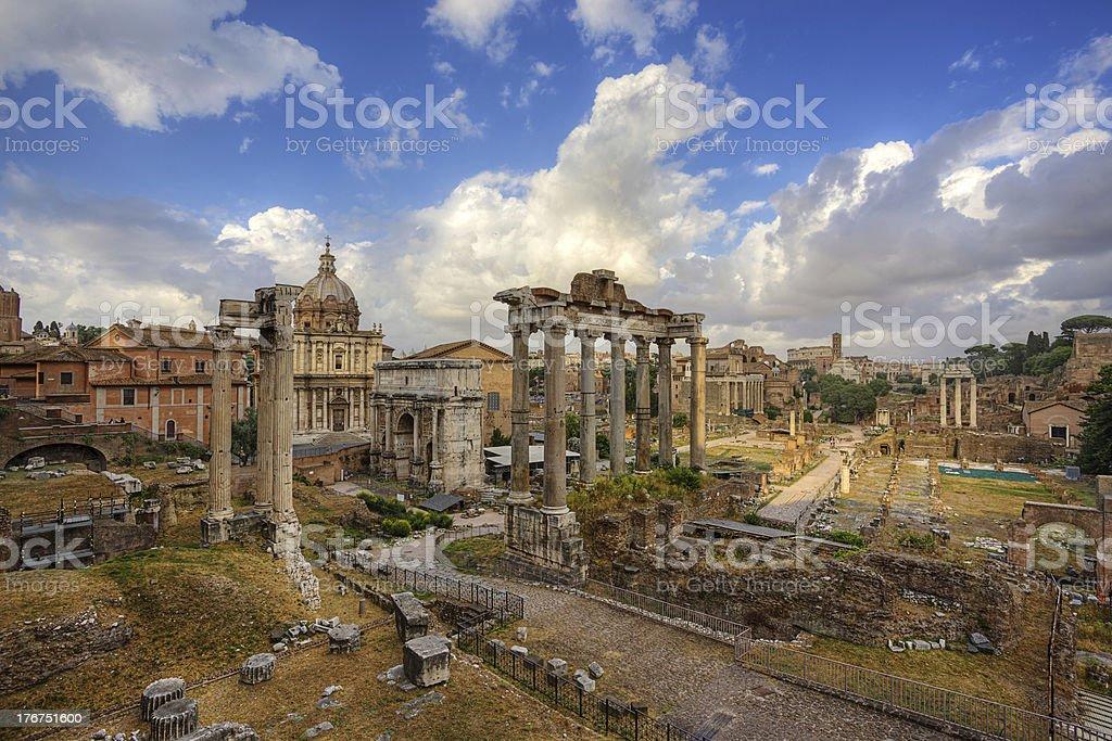 Foro Romano. Rome. Italy. royalty-free stock photo