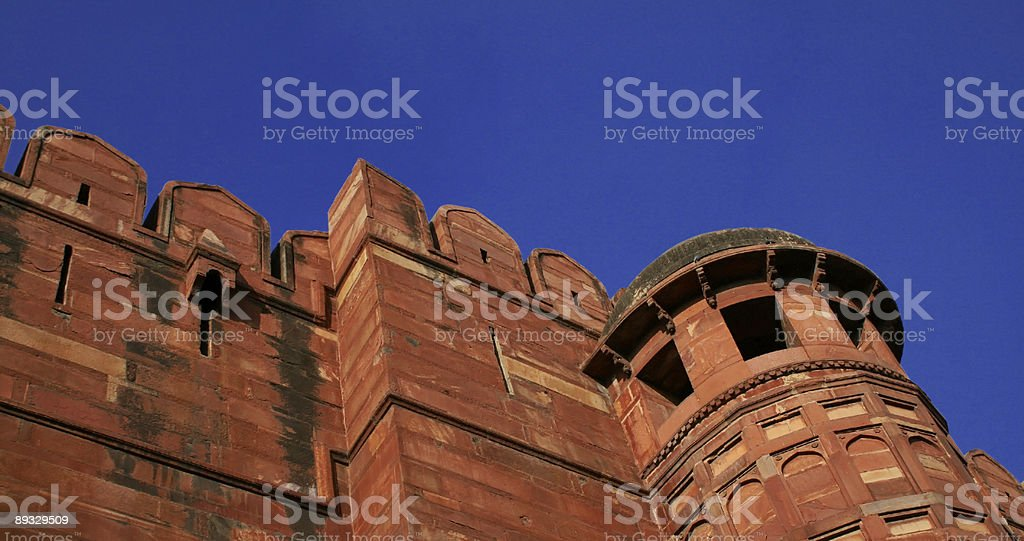Fort Agra #2 royalty-free stock photo