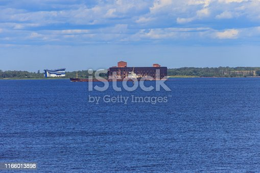 istock Fort Alexander I (or Plague Fort) in the Gulf of Finland near Kronstadt, Russia 1166013898