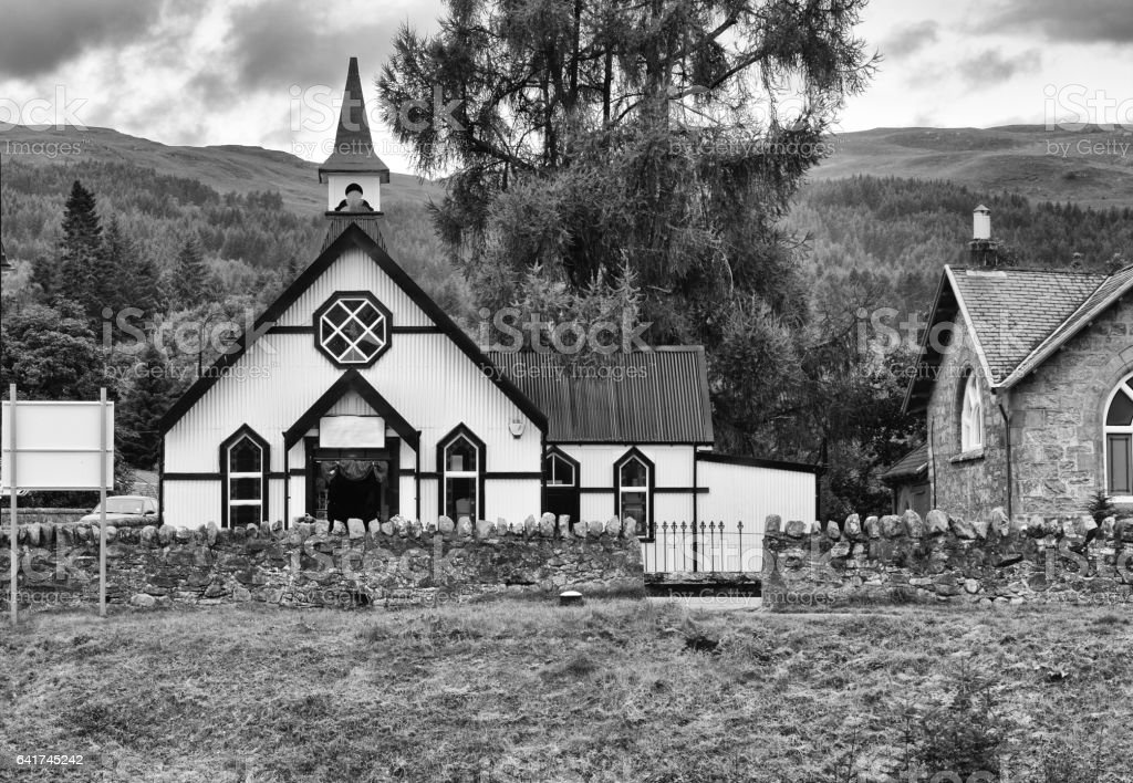 Fort August - Highlands, Scozia stock photo