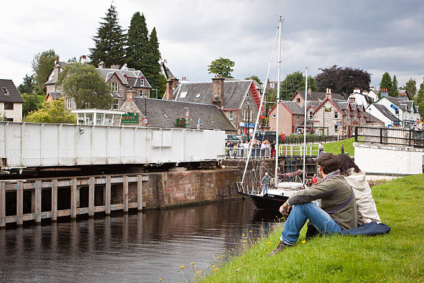 Fort Augustus stock photo