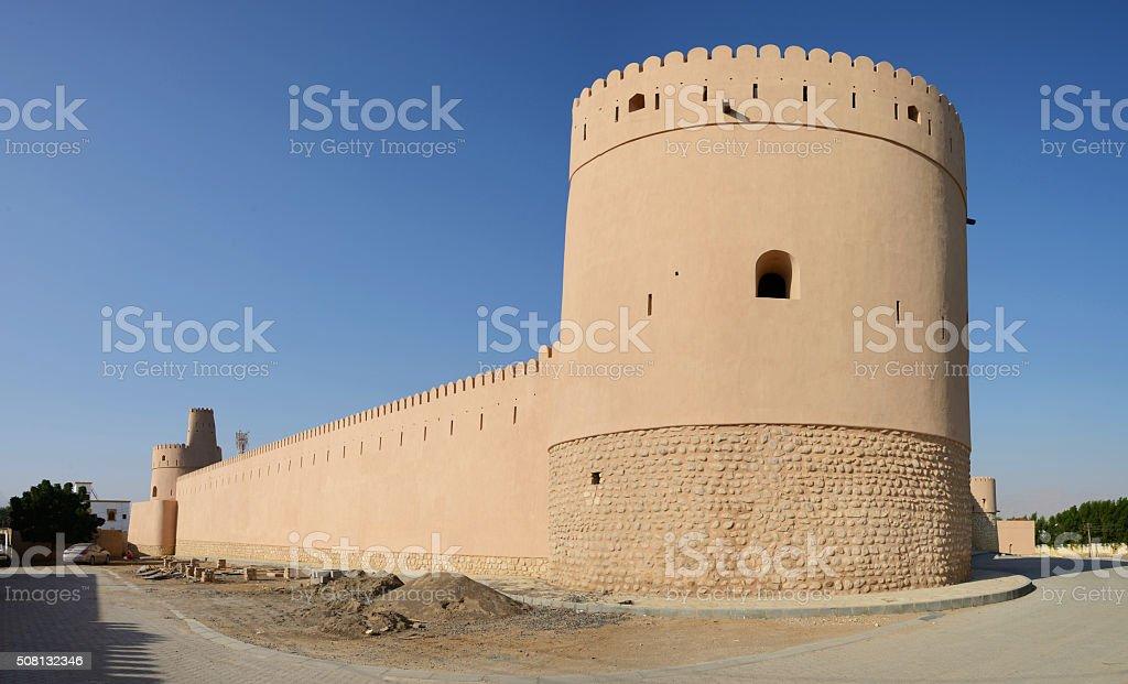 Fort Bilad, Sur, Oman stock photo