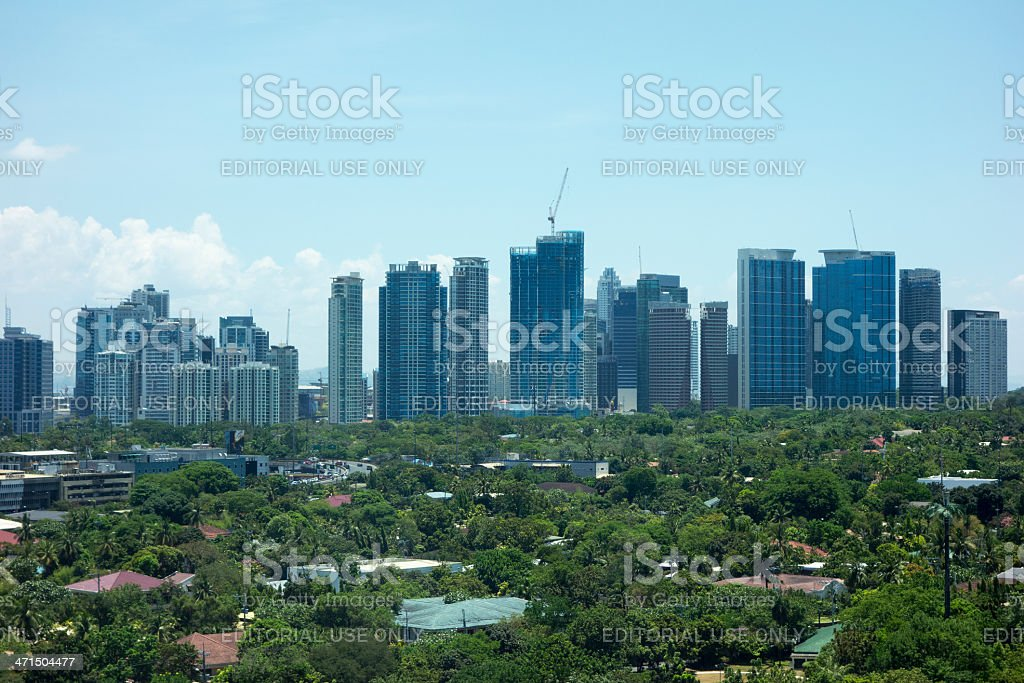 Fort Bonifacio, Metro Manila royalty-free stock photo