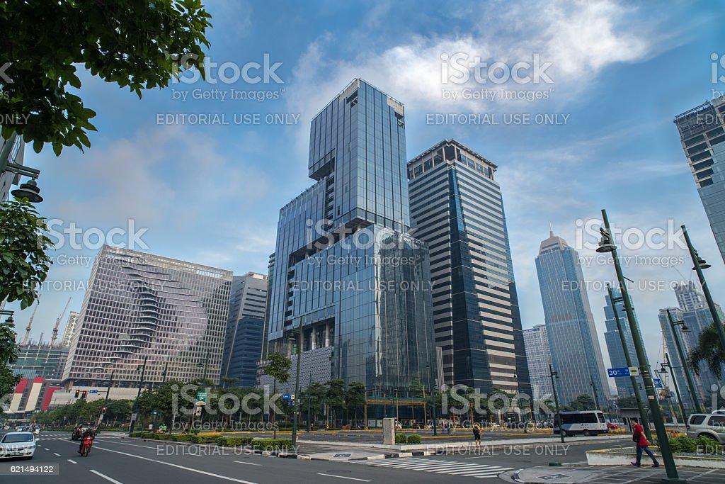 Fort Bonifacio,Manila Philippines foto stock royalty-free