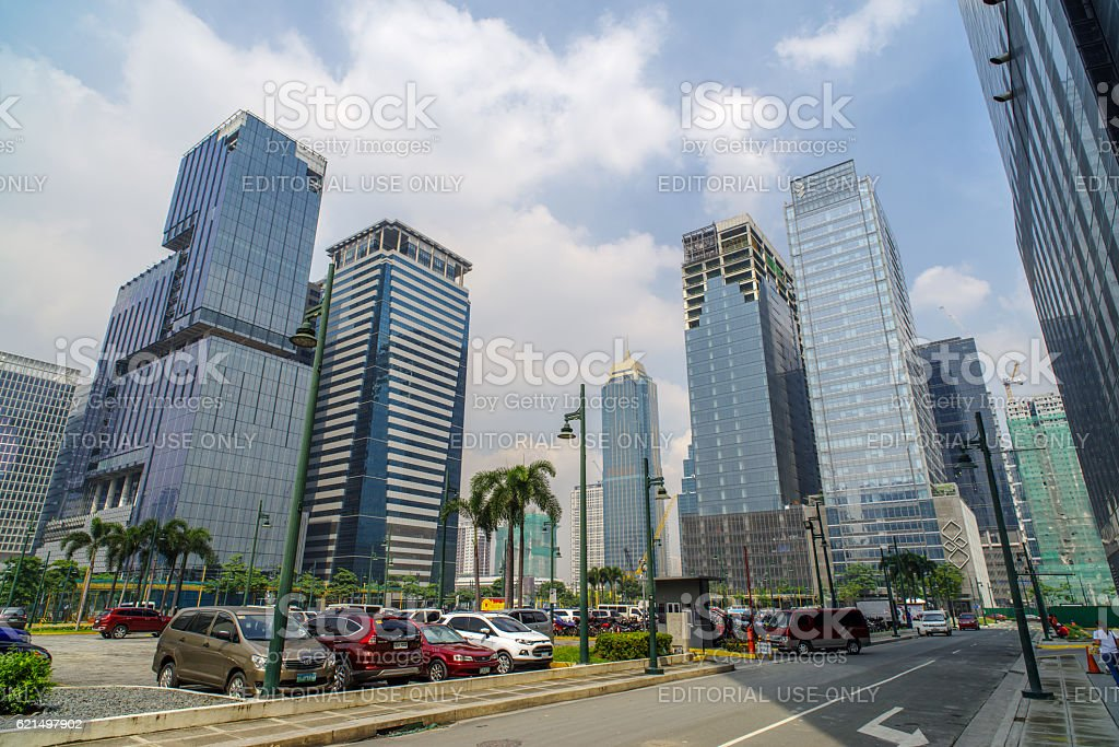 Fort Bonifacio,Manila Philippines Lizenzfreies stock-foto