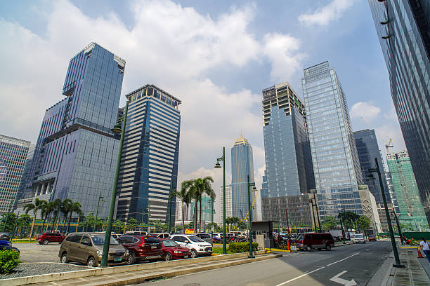 Fort Bonifacio,Manila Philippines stock photo