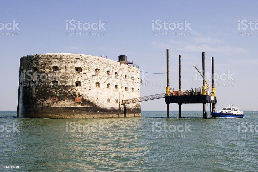 Fort Boyard stock photo
