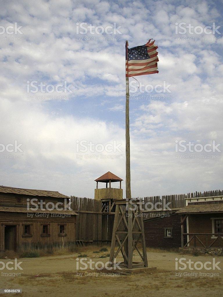 Fort Bravo..:: Far west 'Series'::.. royalty-free stock photo