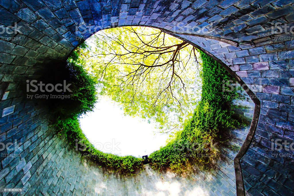 Fort canning park, Singapore stock photo