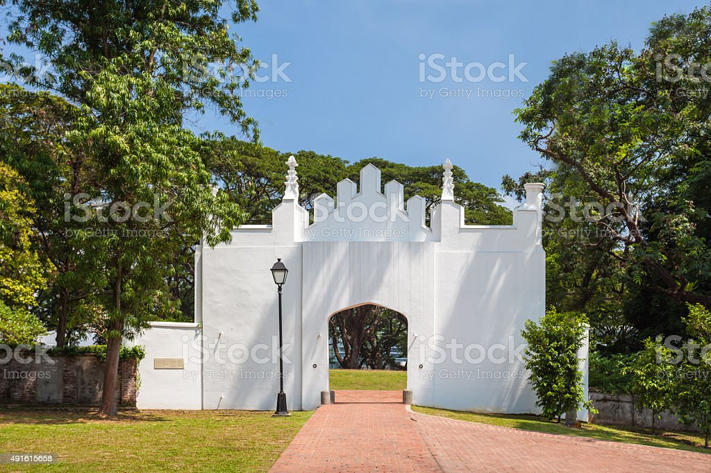 Fort Canning stock photo