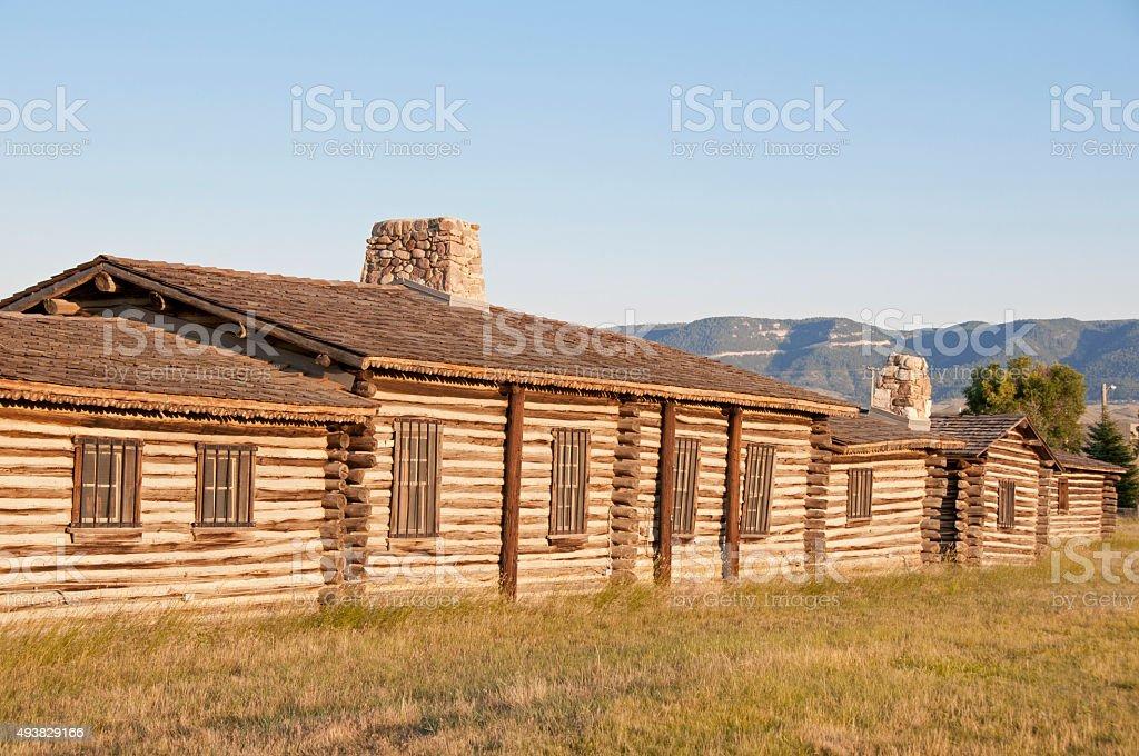 Fort Caspar, Wyoming stock photo