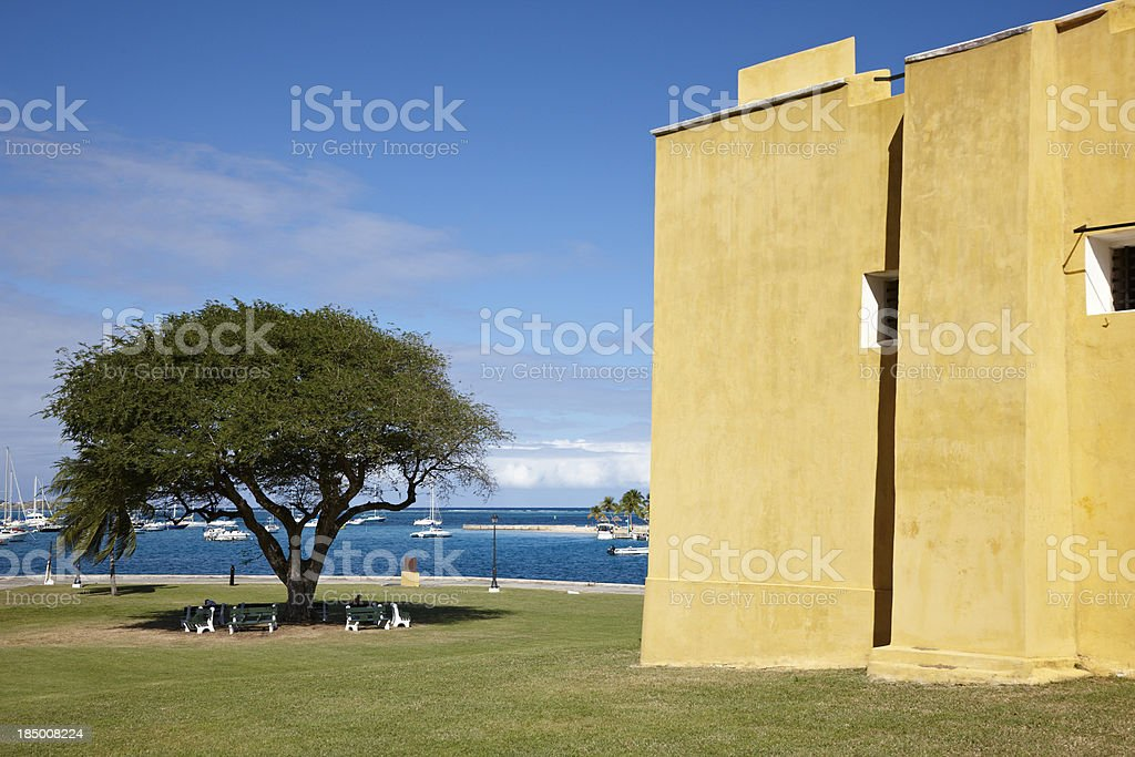 Fort Christiansvaern, Christiansted, US Virgin Islands royalty-free stock photo