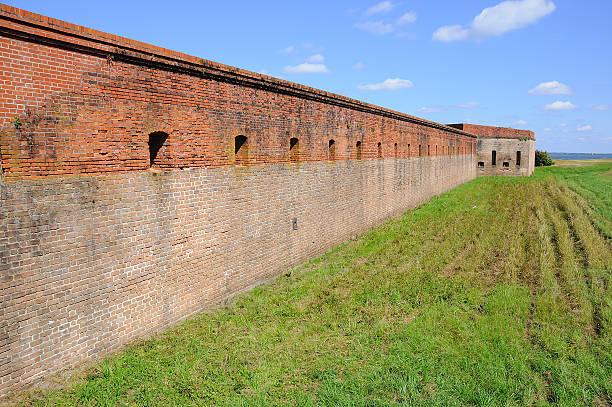 Fort Clinch on Amelia Island stock photo