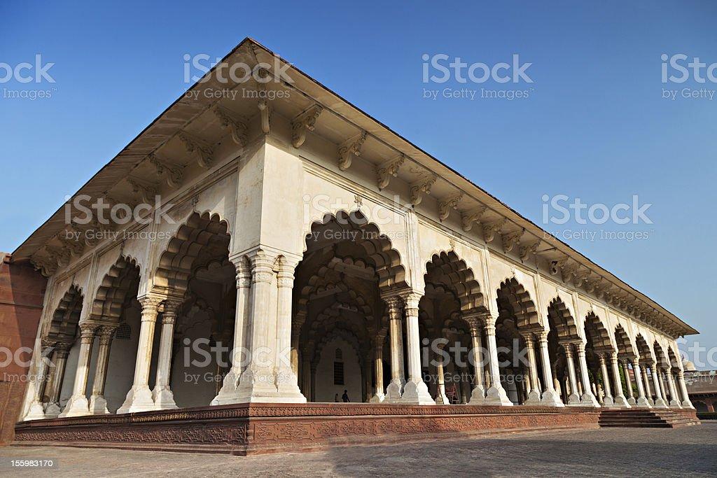 Fort Diwan I Am stock photo