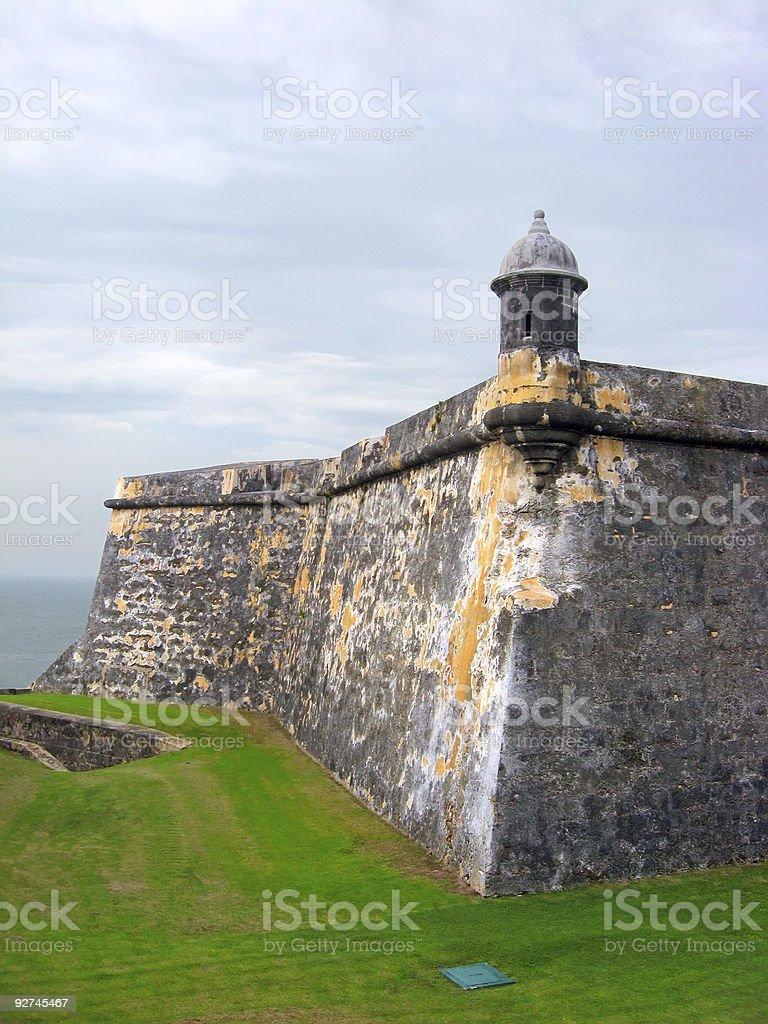 Fort El Morro royalty-free stock photo