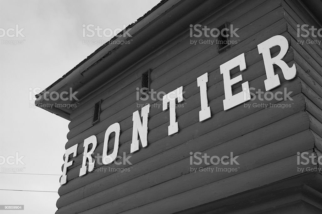 Fort Frontier royalty-free stock photo