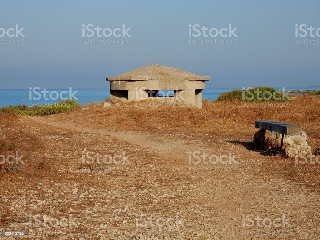 Fortino a Punta Grossa stock photo