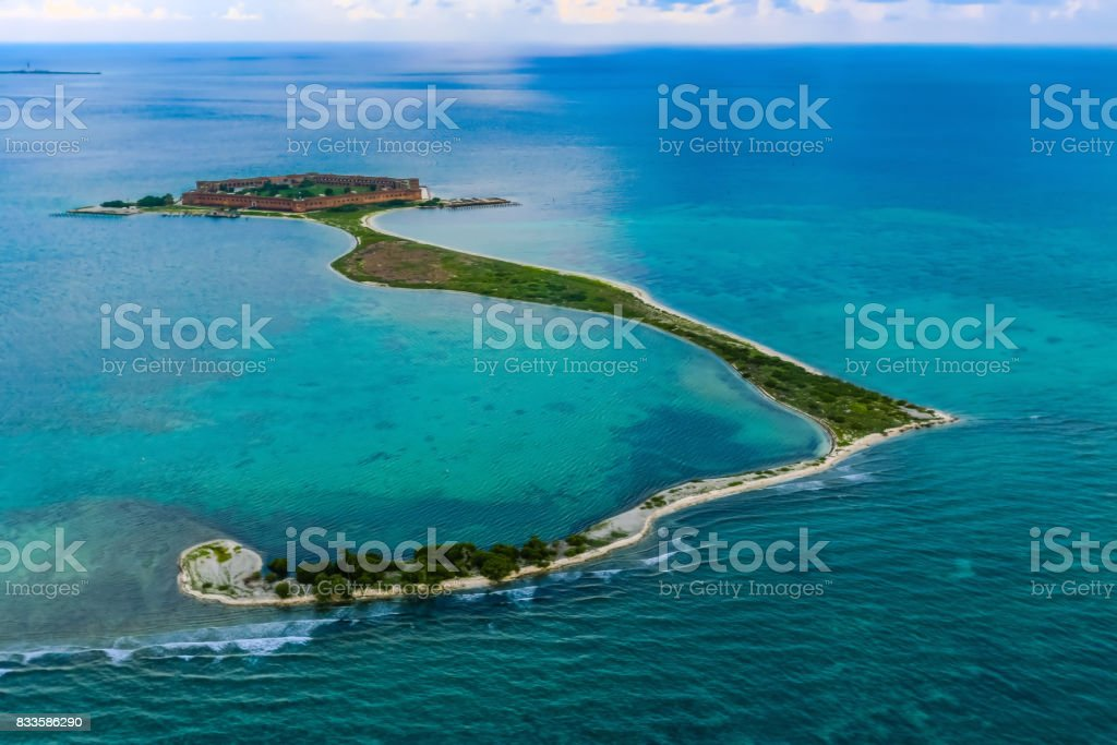 Fort Jefferson national monument, Dry Tortugas national park stock photo