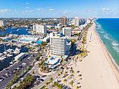 Las Olas beach, Fort Lauderdale, USA