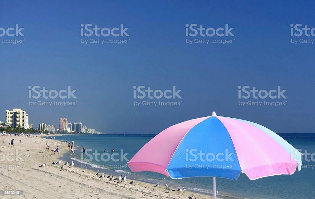 Spiaggia di Fort lauderdale foto stock royalty-free