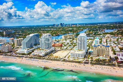 istock Fort Lauderdale Beachfront Hotels 687328882